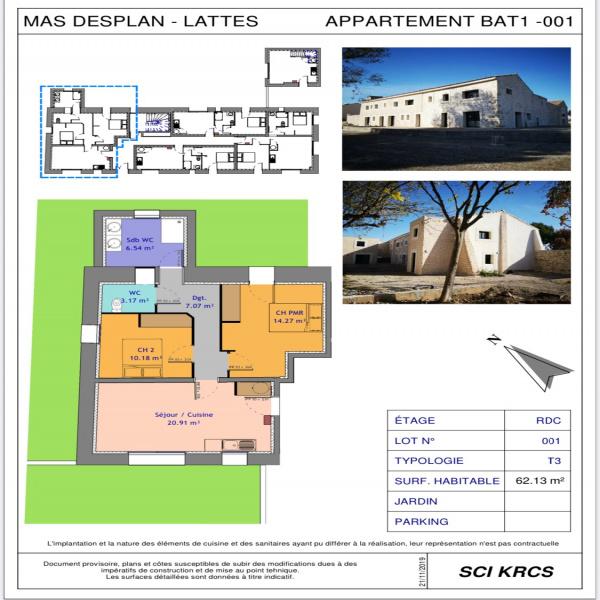 Programme neuf Appartement Lattes 34970